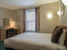 Wycliffe Hotel and Restaurant's Room 9 - a double room with King-size bed and full en-suite