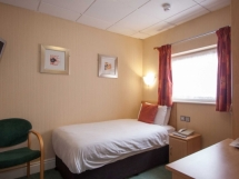 Single Room at the Wycliffe Hotel in Stockport