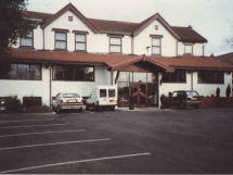 Hotel and Company Van in the 1990's