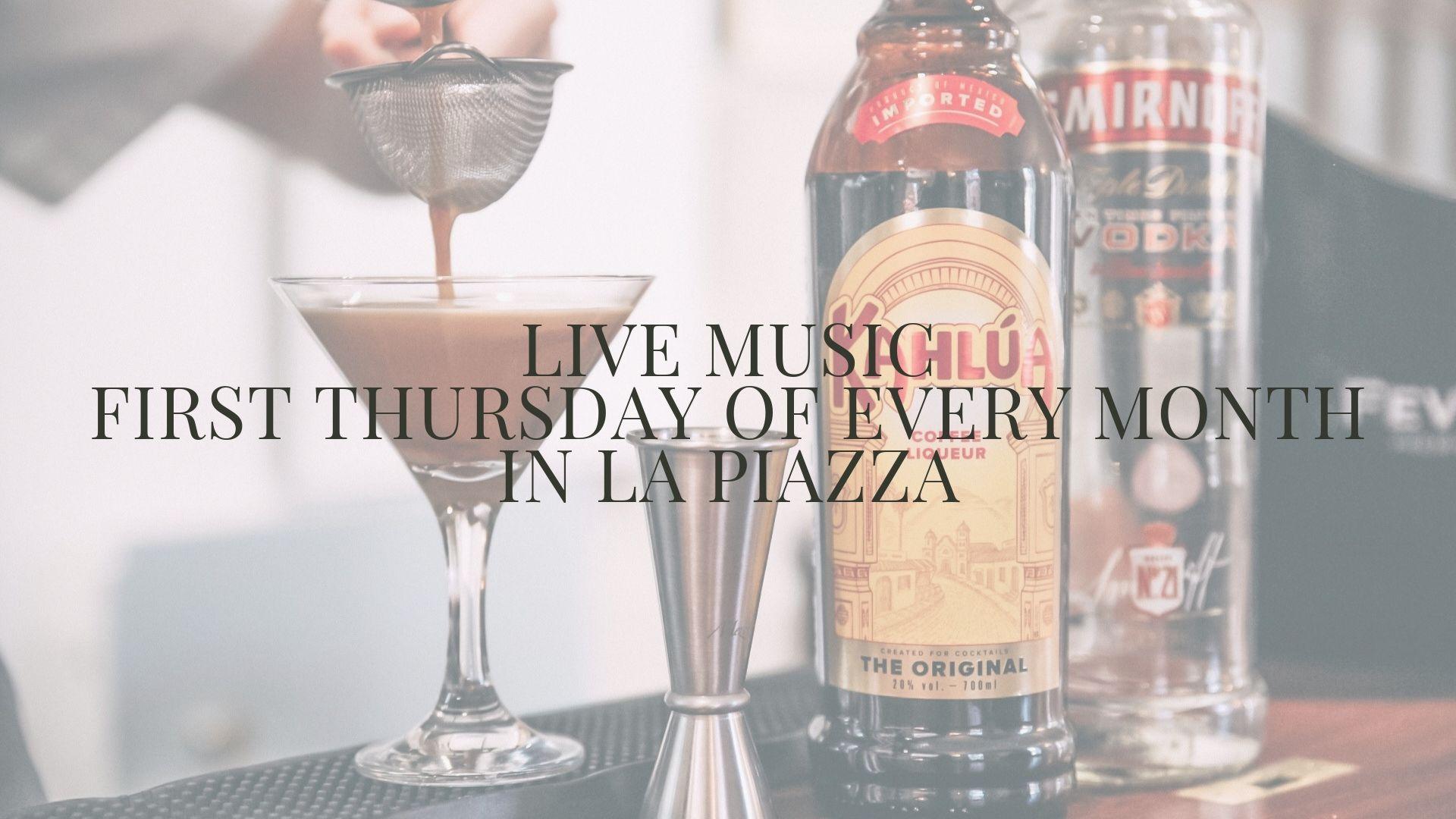 live music in la piazza